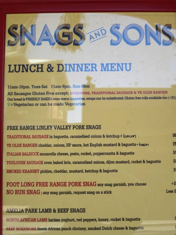 Snags and Sons, Perth